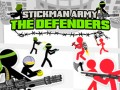 Igre Stickman Army: The Defenders